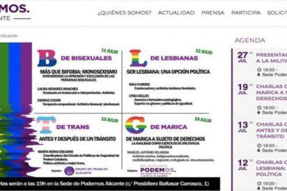 ¿Sabes qué es 'la analidad como ejercicio de militancia política'?... pues asiste a este curso de Podemos