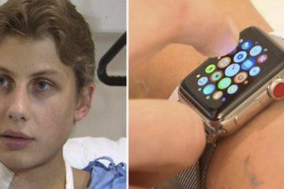Un reloj inteligente le salva la vida a este joven