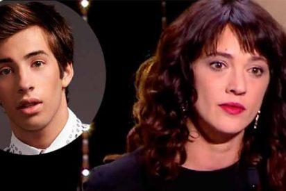"""Los mensajes de Asia Argento: """"Tuve sexo con Jimmy y se sintió raro, pero no fue violación"""""""