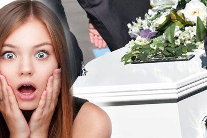 Mujer con mucho tiempo libre, se duerme dentro de un ataúd para atraer la suerte y muere