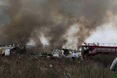 Este avión de Aeroméxico con 103 ocupantes se estrella poco después de despegar en Durango