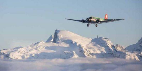 Un avión turístico de 1939 se estrella en Suiza y fallecen sus 20 ocupantes