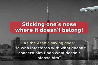 Un avión lanzado contra una torre de Toronto, el tuit que agrava la crisis entre Arabia Saudí y Canadá