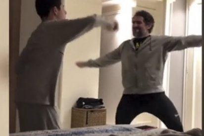 El baile de este padre con su hijo con autismo conmueve a las redes