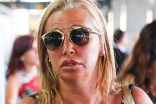 Pillan a Belén Esteban fumando en el aeropuerto de Madrid y le cae la del pulpo