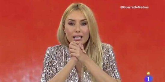 """Berta Collado: """"Somos amigas, conocidas y despedidas de TVE"""""""