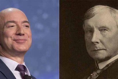 Bezos vs. Rockefeller: ¿Sabes cuál de los dos es realmente el hombre más rico de la historia moderna?