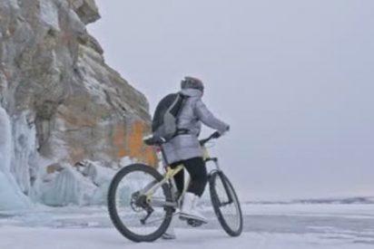 El hielo es muy peligroso y este vídeo lo demuestra