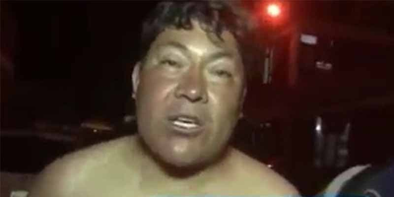 Un diputado del partido de Evo Morales se desnuda cuando le impiden abordar el avión por estar borracho