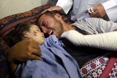 Brutal bombardeo israelí en Gaza mata a un niño y a su madre embarazada