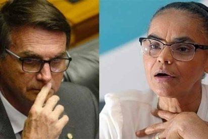 Los evangélicos de Brasil retiran su apoyo a Marina Silva y se pasan al 'duro' Jair Bolsonaro