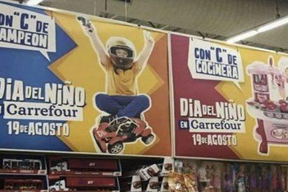 Todo el mundo pica en la provocación de Carrefour en su campaña por el Día del Niño