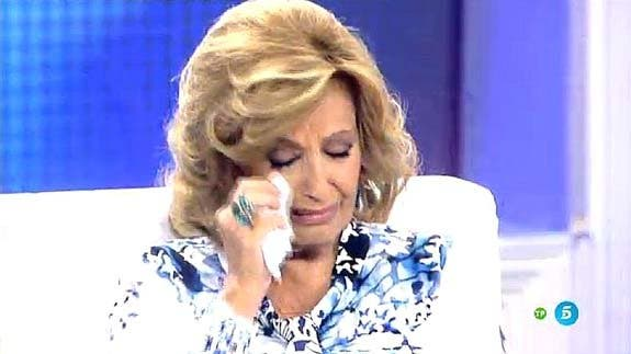 María Teresa Campos enloquece a gritos por el 'despido' final que le ha dado Telecinco