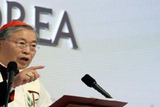 """El arzobispo de Seúl, a los jóvenes: """"Las manos amigas son lo que provoca un gran cambio en el mundo"""""""