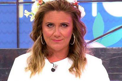 Carlota Corredera machaca a un crecidito Diego Matamoros