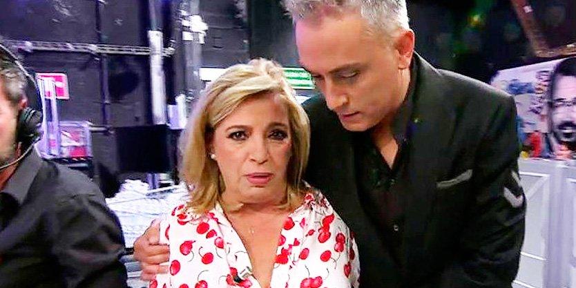 Carmen Borrego se desmorona hablando de Terelu y abandona el plató de 'Sálvame'