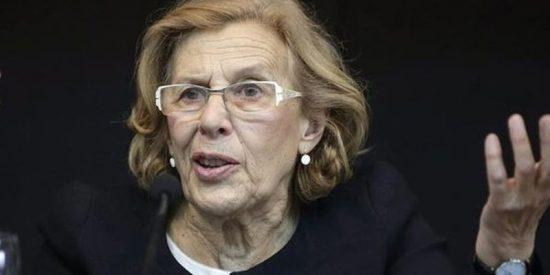 La podemita Carmena no ve ningún problema en que las calles de Madrid se llenen de manteros