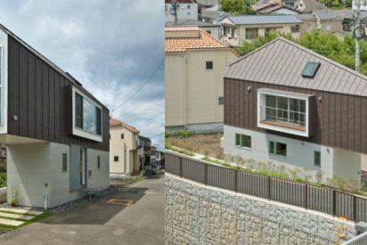 Mira la casa más estrecha del mundo vista por dentro