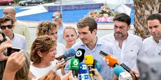 """Pablo Casado: """"El PSOE me ha dado la razón; no era posible la política de papeles para todos"""""""