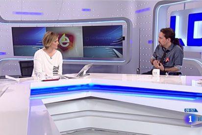 Pablo Iglesias y Pedro Sánchez 'machacan' a María Casado para echarla de TVE