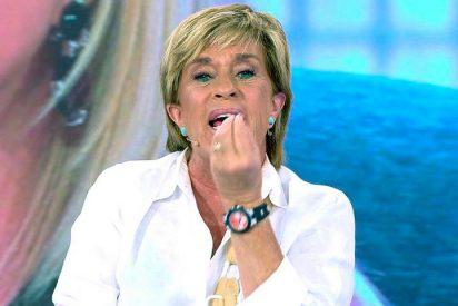 Chelo Gª Cortés se lía y la lía al hablar del veto a la pregunta de si había tenido algo íntimo con la Pantoja