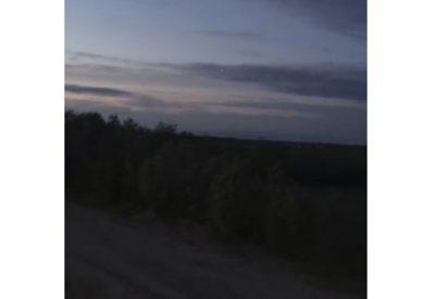 Revelan el origen del objeto verde observado en el cielo de Rusia