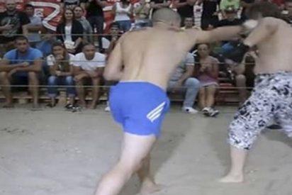 La sangrienta y desproporcionada pelea entre un boxeador y un abogado peleón