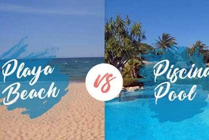 ¿Qué prefieren los españoles, playa o piscina?