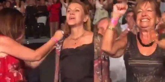 Así fue la noche loca de Maria Dolores Cospedal en Guadalmina