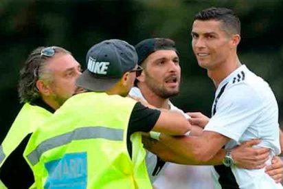 Gol y 'exceso de amor' en el debut de Cristiano Ronaldo con la Juventus