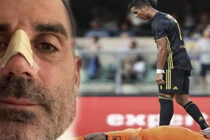 La imagen más dura de Cristiano Ronaldo en la Juventus que ha generado una aluvión de críticas