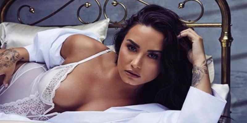 La triste realidad de Demi Lovato en bikini y sin photoshop