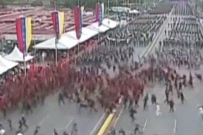 Dos explosiones en pleno discurso de Nicolás Maduro en Venezuela