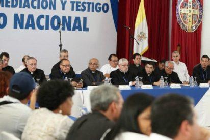 """Nicaragua pidió al Vaticano sacar de la Mesa de Diálogo a los obispos """"a favor de la oposición"""""""