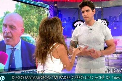 """Diego Matamoros deja con el culo al aire a su padre: """"Vino a mi boda por dinero"""""""