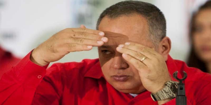 """El verdugo Diosdado Cabello: """"Primero se va del poder Macri que Maduro"""""""