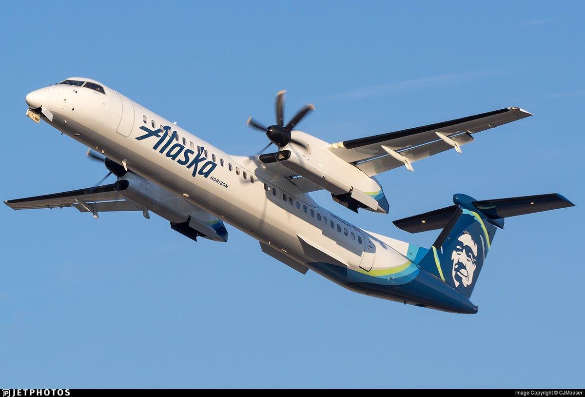 Un empleado de Alaska Airlines roba un avión en el aeropuerto de Seatlle y lo estrella