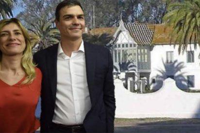 Pedro Sánchez y señora cambian el 'apartamentito playero' por el palacio 'gratis total'