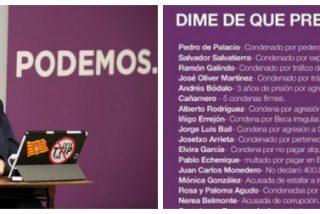 Un tuitero se cansa de los ataques de 'Echeminga' a Casado y le calla la boca con la lista que hunde a Podemos