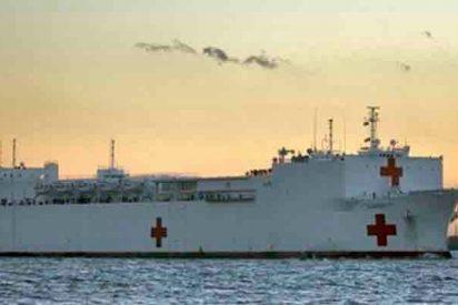 Donald Trump manda un buque a Colombia para auxiliar a los refugiados que huyen de la dictadura de Maduro
