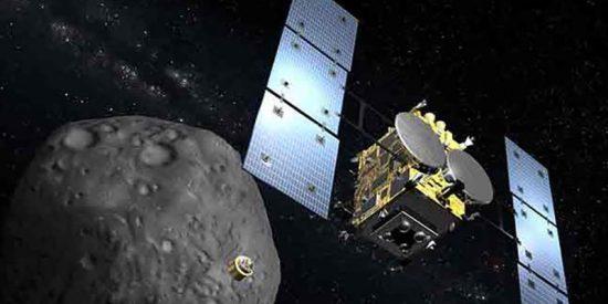 "La ESA comparte esta imagen de un ""objeto extraterrestre"" proveniente del asteroide Itokawa"