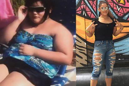 Metamorfosis: Esta chica pesaba 101 kilos y el gimnasio la transformó