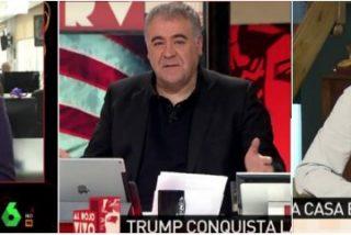Latigazos entre 'protegidos' de García Ferreras y laSexta: Escolar sacude a Verstrynge y le acusa de demagogia y de difundir bulos