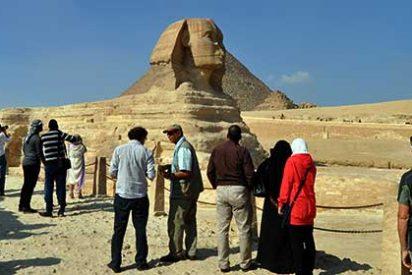 Descubren una nueva esfinge en Luxor