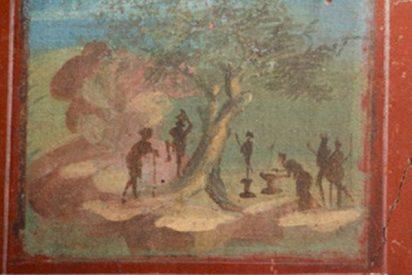 Descubren en Pompeya este palacio con pinturas intactas de estilo helenístico