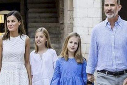 ¿Qué nos dicen los gestos de la reina Letizia con sus hijas?