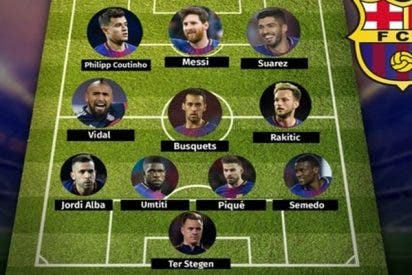 El super equipo que formó el Barcelona para intentar destronar al Real Madrid en la Champions League