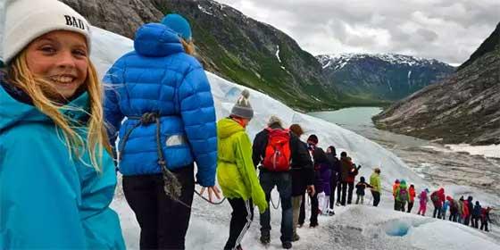 Lugares increíbles del mundo: Fiordos Sognefjord, Noruega