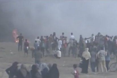 220 heridos en protestas en la frontera de la Franja de Gaza con Israel
