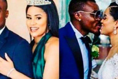 Un ex futbolista de Las Palmas se divorcia de Miss Nigeria 2013 para casarse con Miss Nigeria 2014